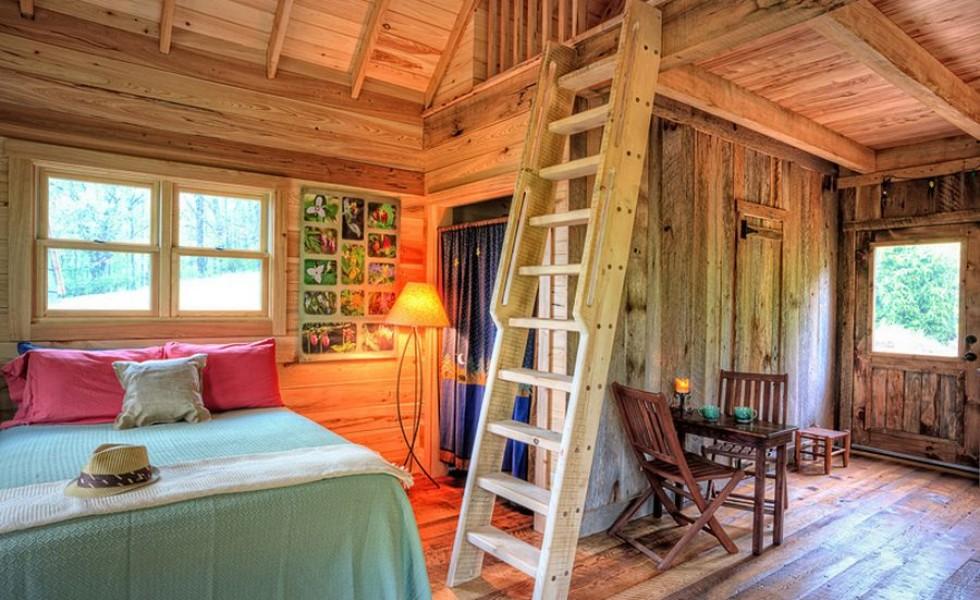 Interior Ideas For Small Cabins: Amenajarea Unei Cabane Rustice, Refugiul Din Cotidian