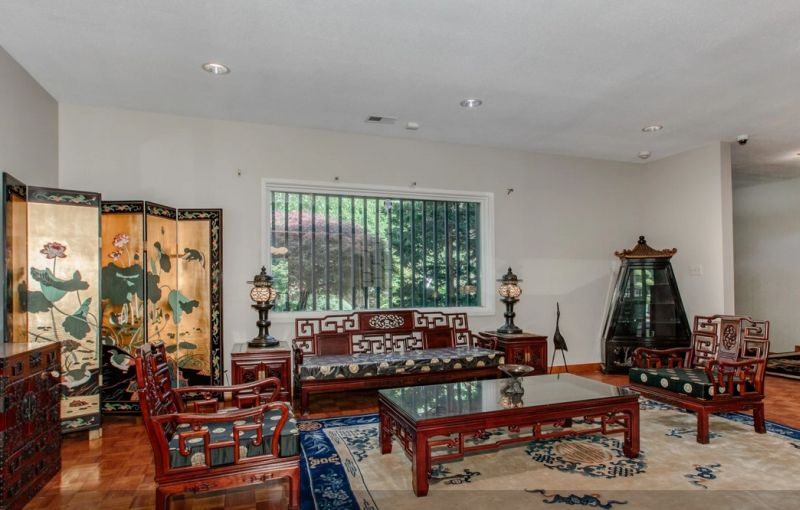 The Japanese style house in America