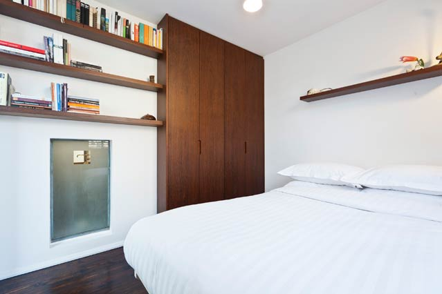 Idei de amenajare a apartamentelor mici for Very small double bedroom ideas