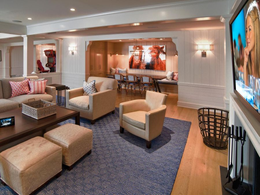 Basement ideas and plans very practical