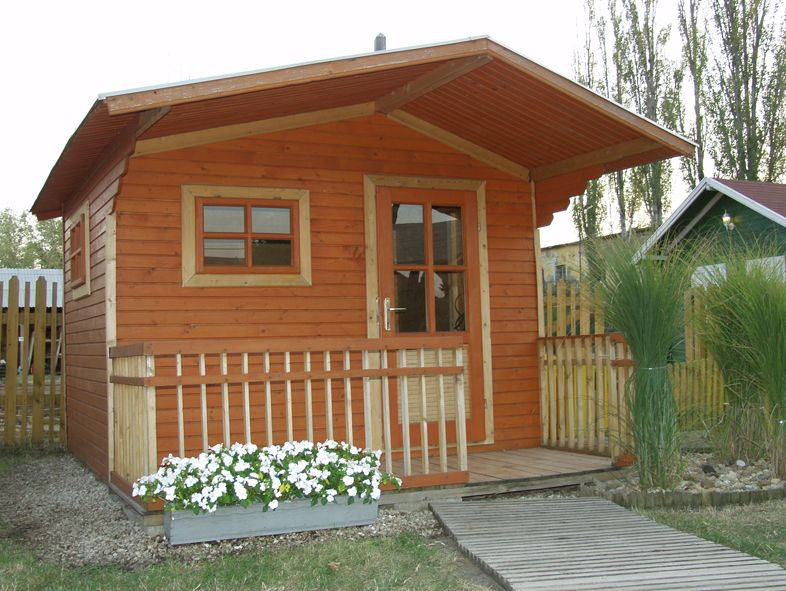 Idei de case mici din lemn Small wooden house design 3