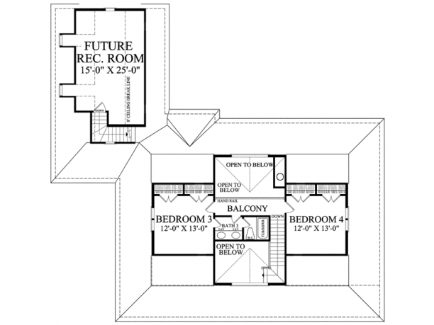One story house plans with porch in America