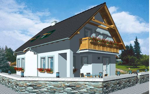 Passive houses in Germany for efficiency