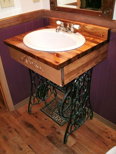 Four ways to repurpose an old sewing machine at home