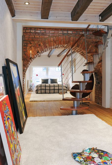 Reclaimed brick design ideas at home