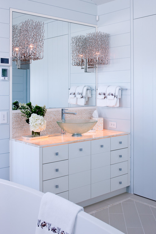 Bathroom makeover at home
