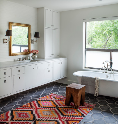 Bathroom makeover for a new look