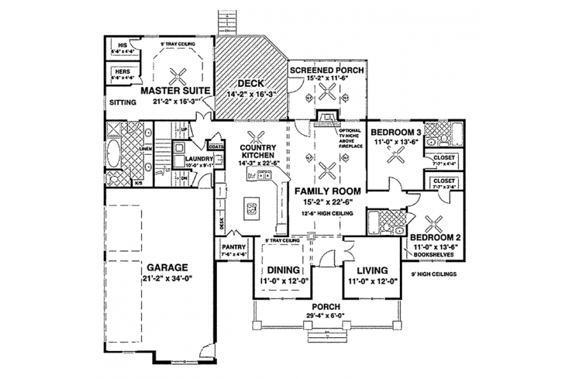 One story craftsman house plans for Craftsman house plans one story with basement
