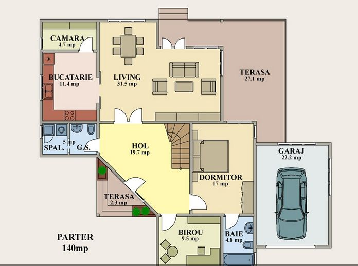 House Plans With Garage Below