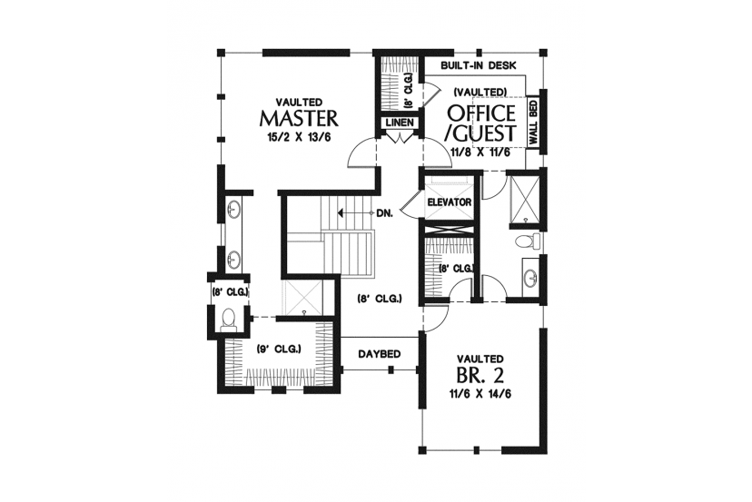 Home Plans For Narrow Lots