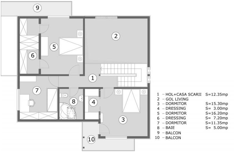 Best house plans for a family of four in the city