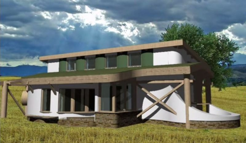 case din baloti de paie Straw bale house construction details 5