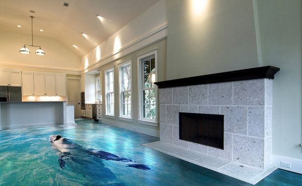 3D floors in home design