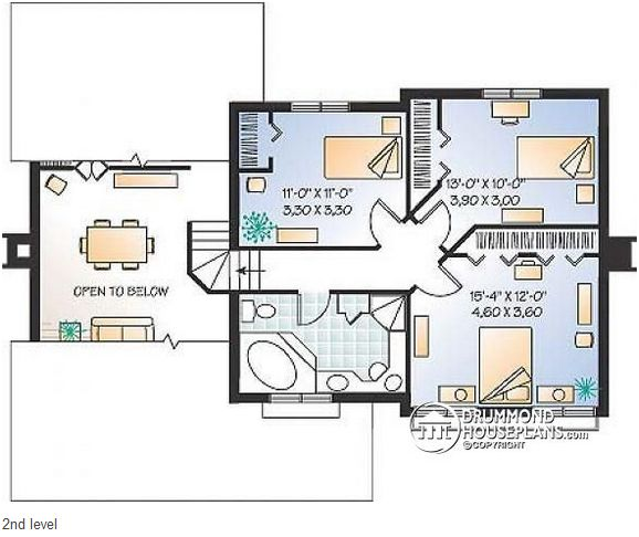Case in stil mediteranean cu buget redus Affordable Mediterranean house plans 3