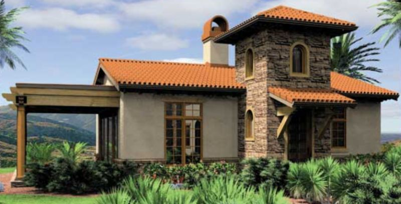 Affordable Mediterranean house plans which are elegant
