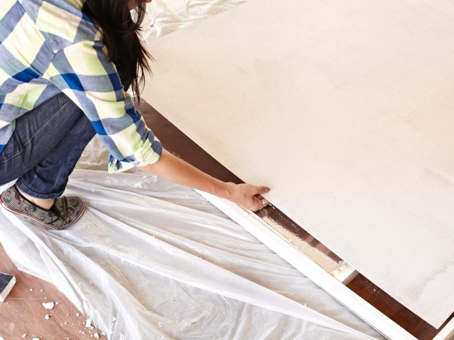 Building a sliding door at home