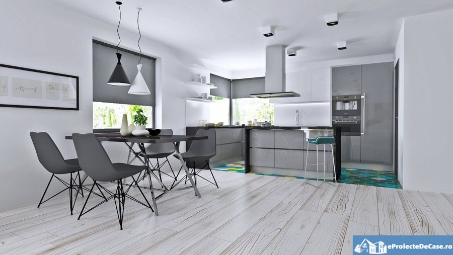 Home plans with large kitchens for the family