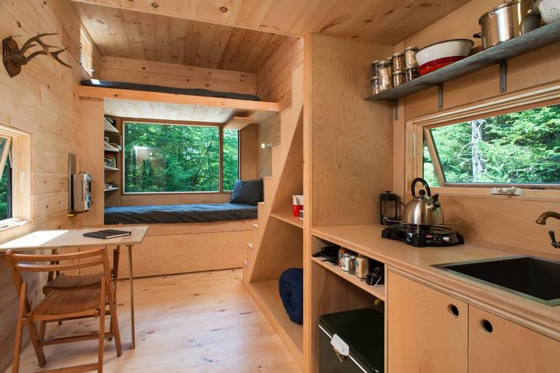 Harvards tiny house happiness lies in small spaces