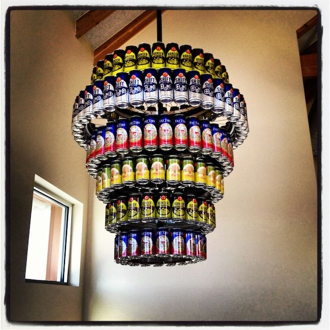 Craft ideas for beer cans at home