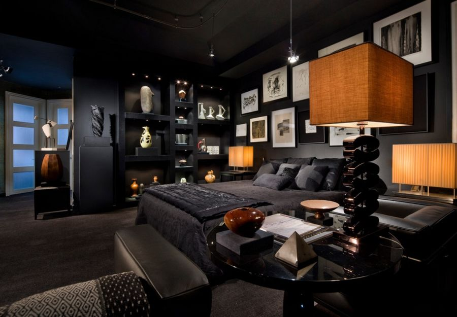 Interior design for dark rooms at home
