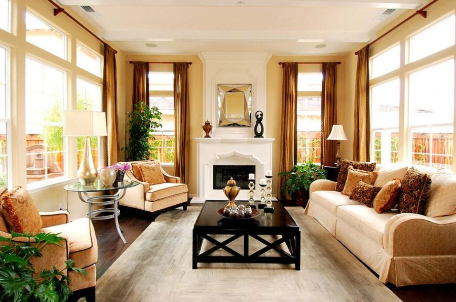 Interior design ideas art deco style at home