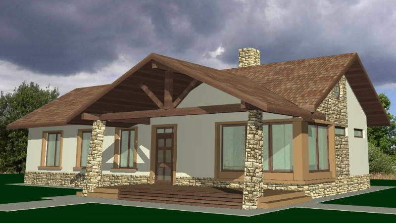 Large front porch house plans for families