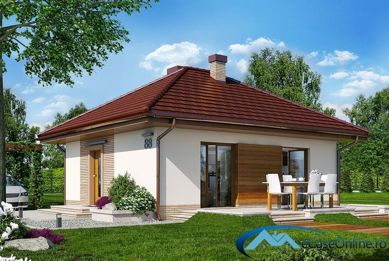 Small one room house plans for Www house plans com