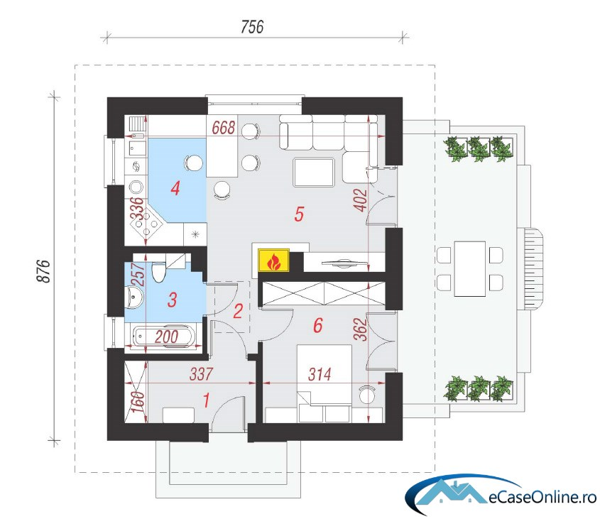 Small One Room House Plans U2013 A Compact Design House