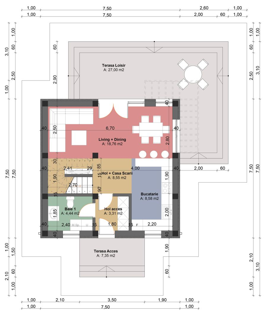 tiny one story house plans spacious little homes tiny one story house plans plenty of space outside too locuinta individuala p m