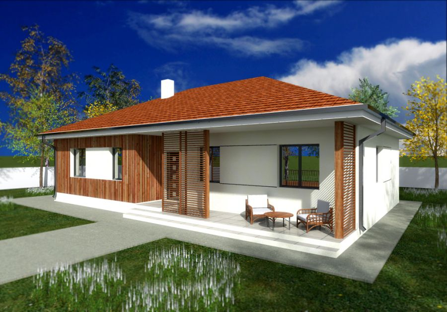 Ground floor house plans with patios