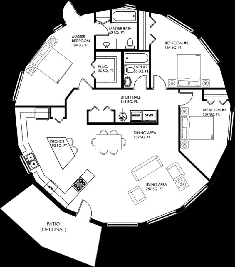 Circular House Plans Shapes From Nature