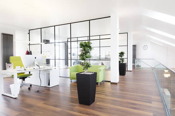 Modern office interior design ideas efficient spaces for Office space interior design ideas