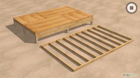 Constructia unei magazii din lemn how to build a wooden shed 4