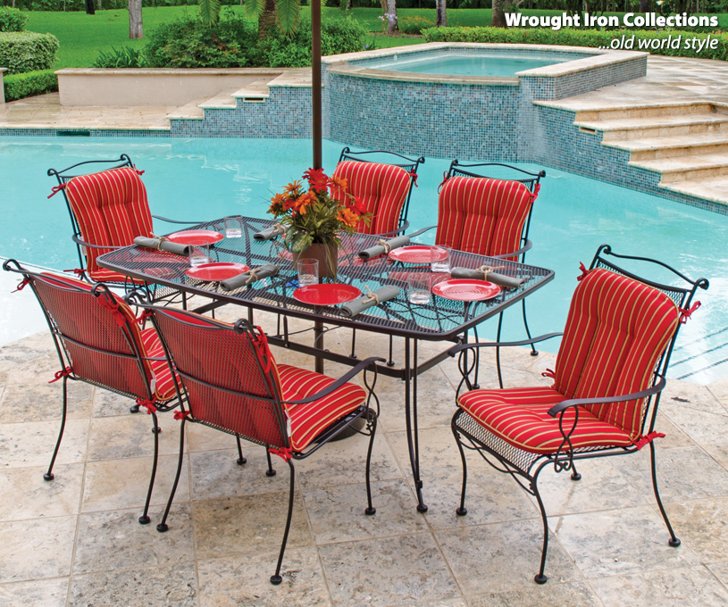 Wrought Iron Furniture For Patio