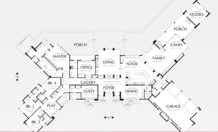 Astounding x shaped house plans ideas best inspiration for Y shaped house plans