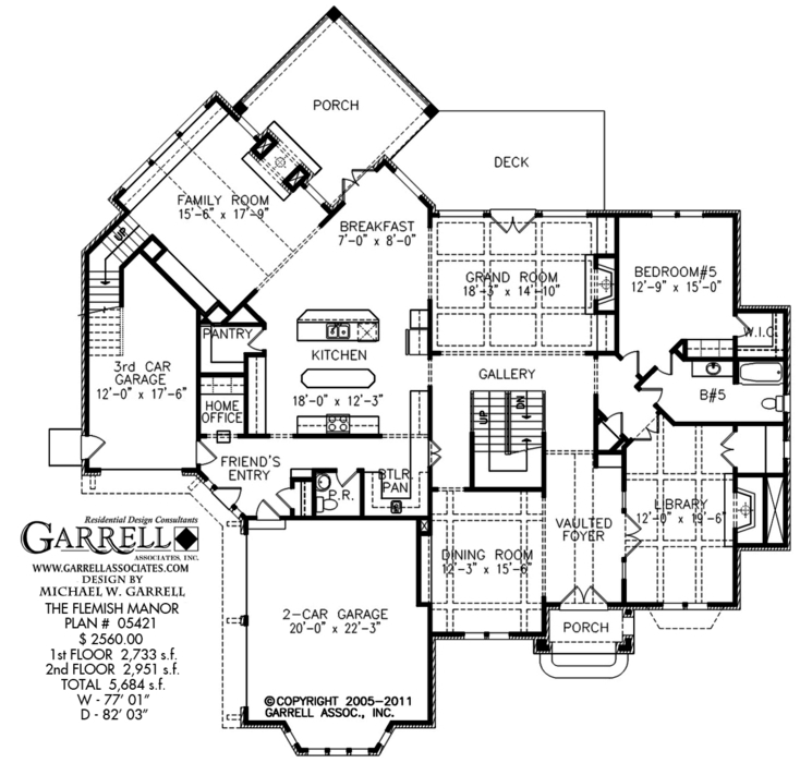 Flemish style house plans sober shape design for Transitional house plans