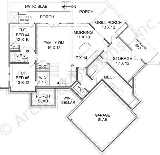 Mountain cabin plans for Mountain cabin floor plans