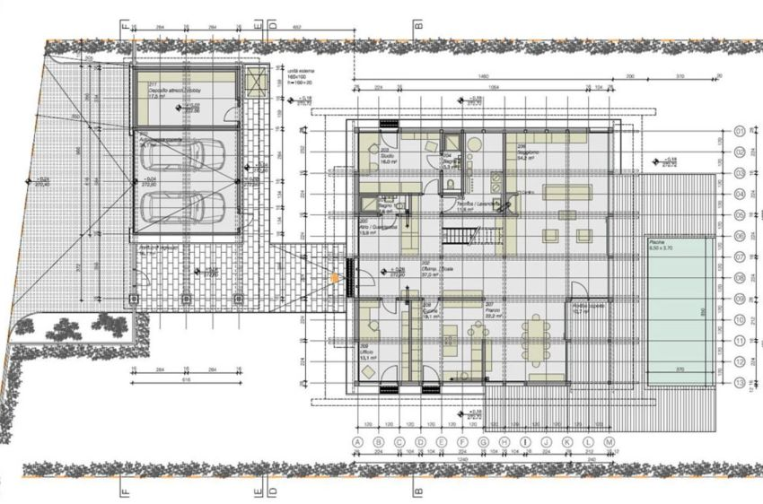 German house layouts