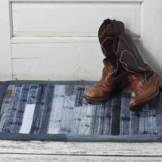 DIY projects using old jeans at home