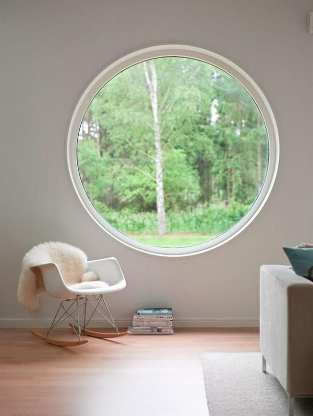 Round windows for houses are spectacular
