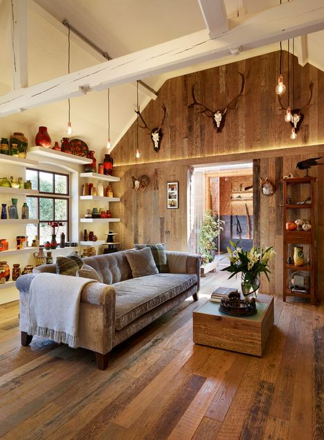 Rustic Living Room: Rustic Living Room Design Ideas