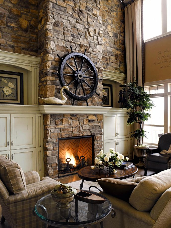 Rustic living room design ideas for Rustic living room ideas