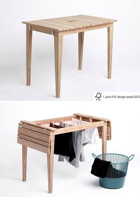 Smart furniture for small spaces at home
