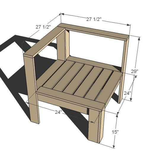 Pallet Outdoor Furniture Instructions