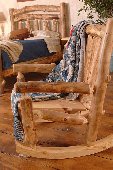 mobilier rustic din lemn rotund How to make rustic wood furniture 6