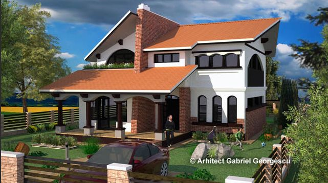 Two story house plans with covered patios outside