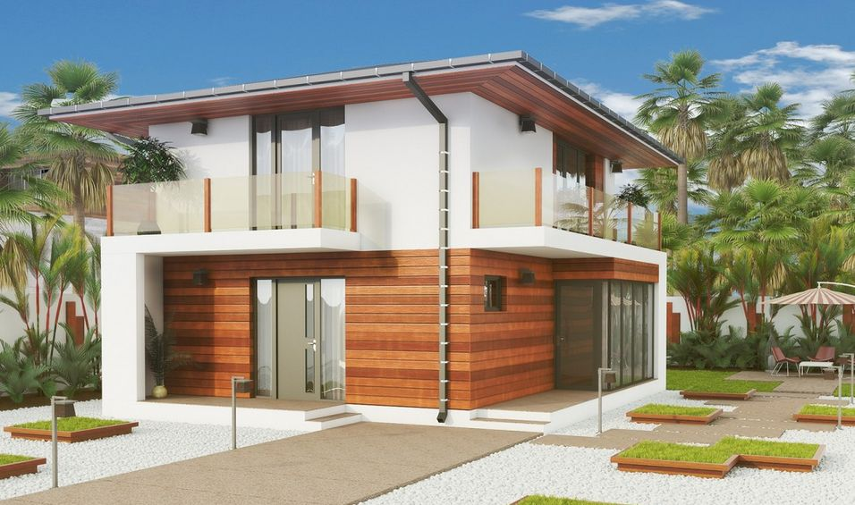 Proiecte de case mici cu 2 dormitoare alegerea optima for Proiecte case mici cu mansarda gratis