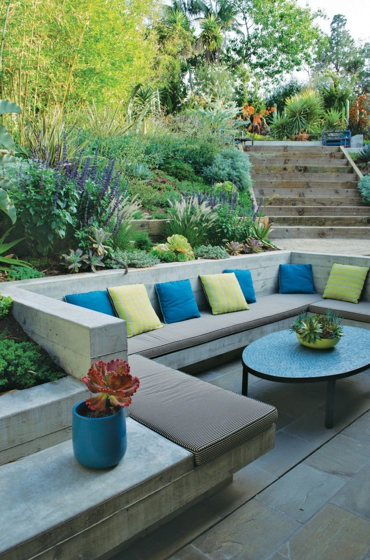 How to landscape a sloping garden in easy steps