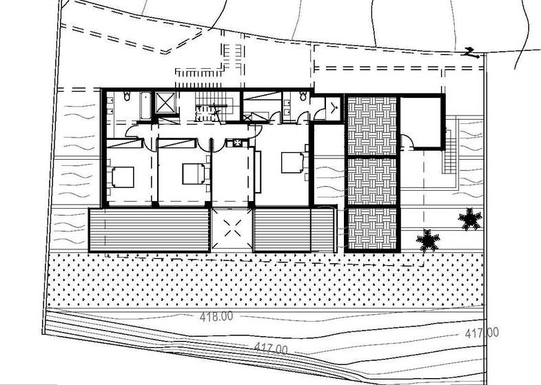 case cu terase din sticla house plans with glass terrace 6