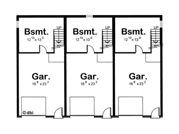 Three family house plans cost efficient choices for House plans for family of 4